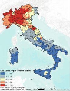 morbilità coronavirus italia