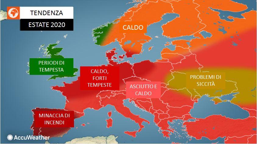 previsioni meteo estate 2020