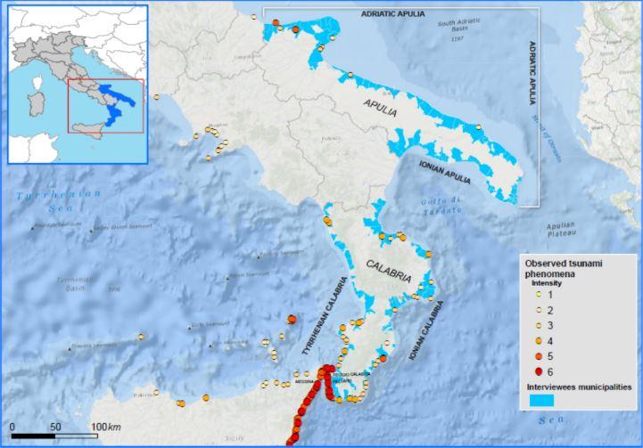 tsunami sud italia