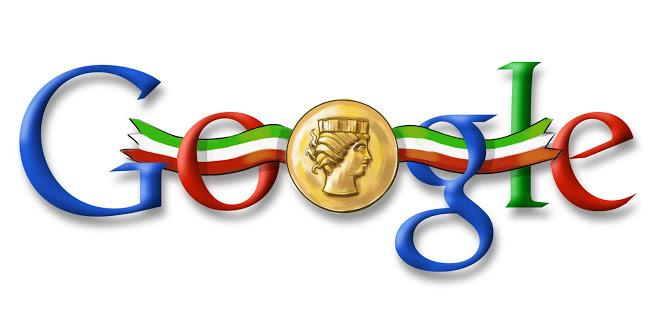 Il Doodle di Google per la Festa della Repubblica del 2008