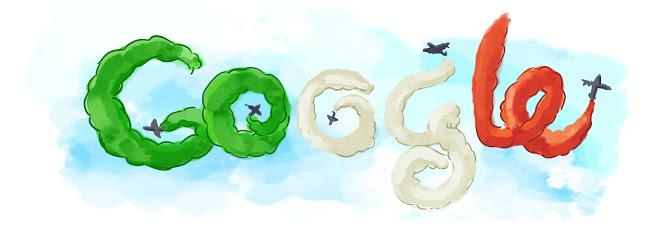 Il Doodle di Google per la Festa della Repubblica del 2010