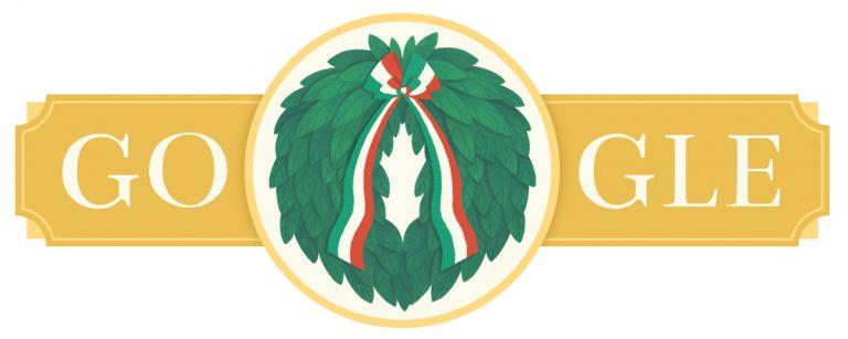 Il Doodle di Google per la Festa della Repubblica del 2020