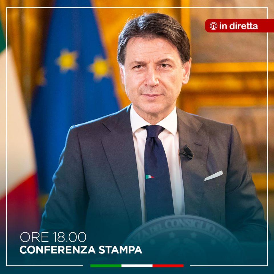 Giuseppe Conte, la conferenza sulle riaperture - SEGUI LA DIRETTA