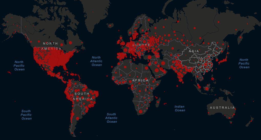 Negli Usa superati i 2 milioni e mezzo di contagi da coronavirus