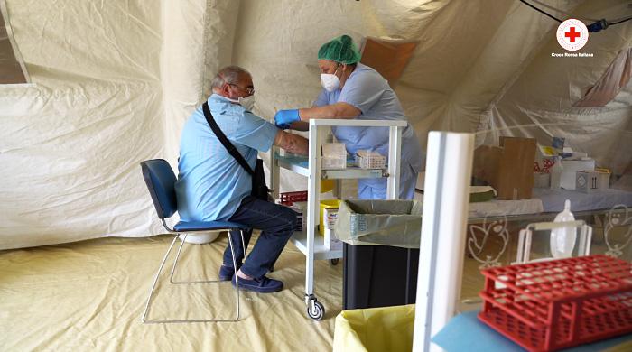 croce rossa test sierologici