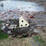 Terrificante frana ad Alta: il momento in cui le case vengono trascinate in mare dall'enorme movimento del suolo [FOTO e VIDEO]