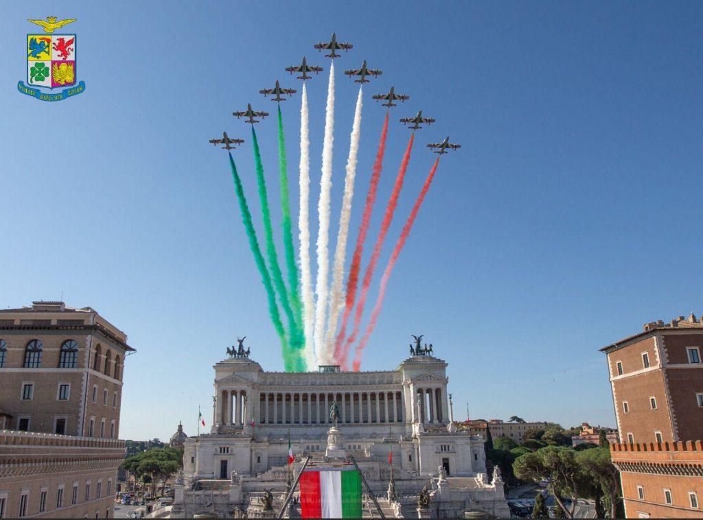 frecce tricolori festa repubblica 2020