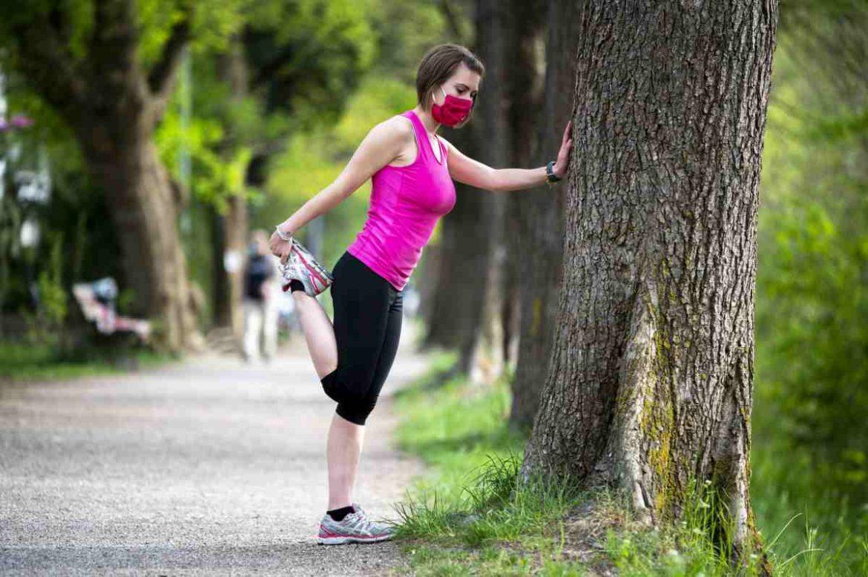 mascherina sport aria aperta