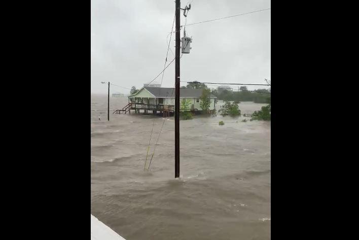 storm surge cristobal