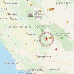 Terremoto: forte scossa in California [MAPPE e DATI]
