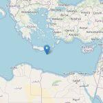 Nuovo forte terremoto nel Mediterraneo, scossa al largo di Creta [DATI e MAPPE]