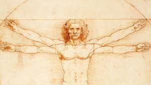 Leonardo da Vinci uomo vitruviano