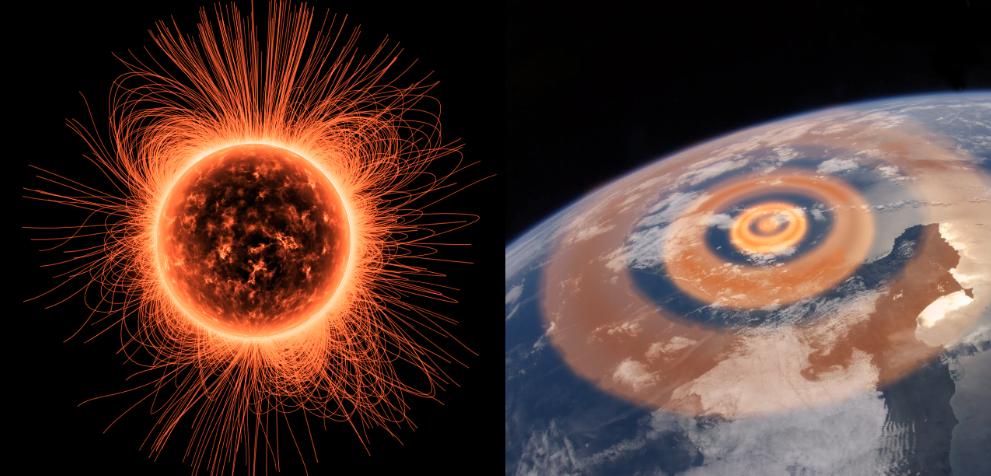 Terremoti attività solare