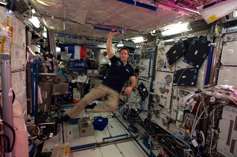 astronauta Thomas Pesquet