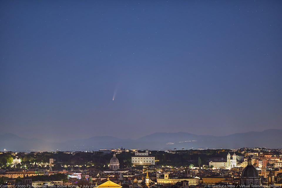 cometa f3 neowise