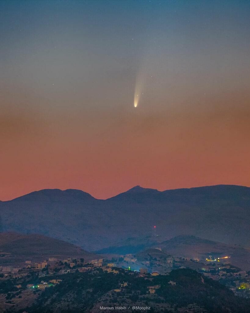 cometa neowide apod nasa