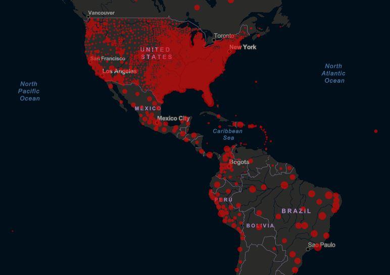coronavirus mondo usa brasile