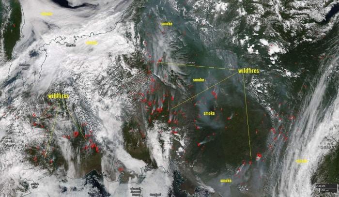 Credit: NASA MODIS