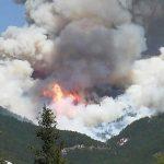 Torna l'allarme incendi: rogo di vaste dimensioni sul Monte Pettino [FOTO LIVE]