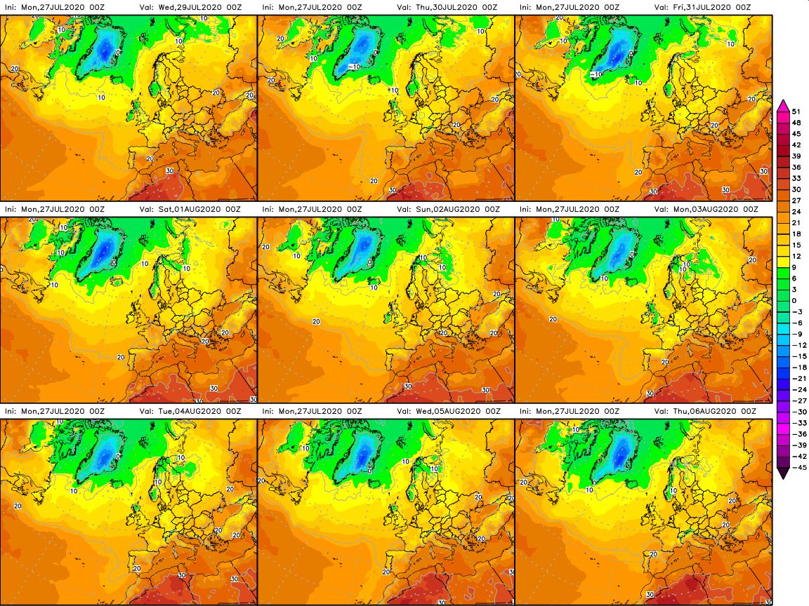 previsioni meteo aeronautica militare temperature