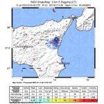 Terremoto in Sicilia, scossa ai piedi dell'Etna: epicentro a Ragalna (Catania) [MAPPE e DATI]