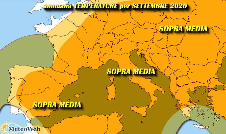 Le previsioni meteo di venerdì 7 agosto