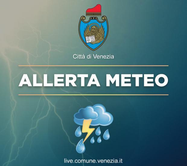 allerta meteo venezia