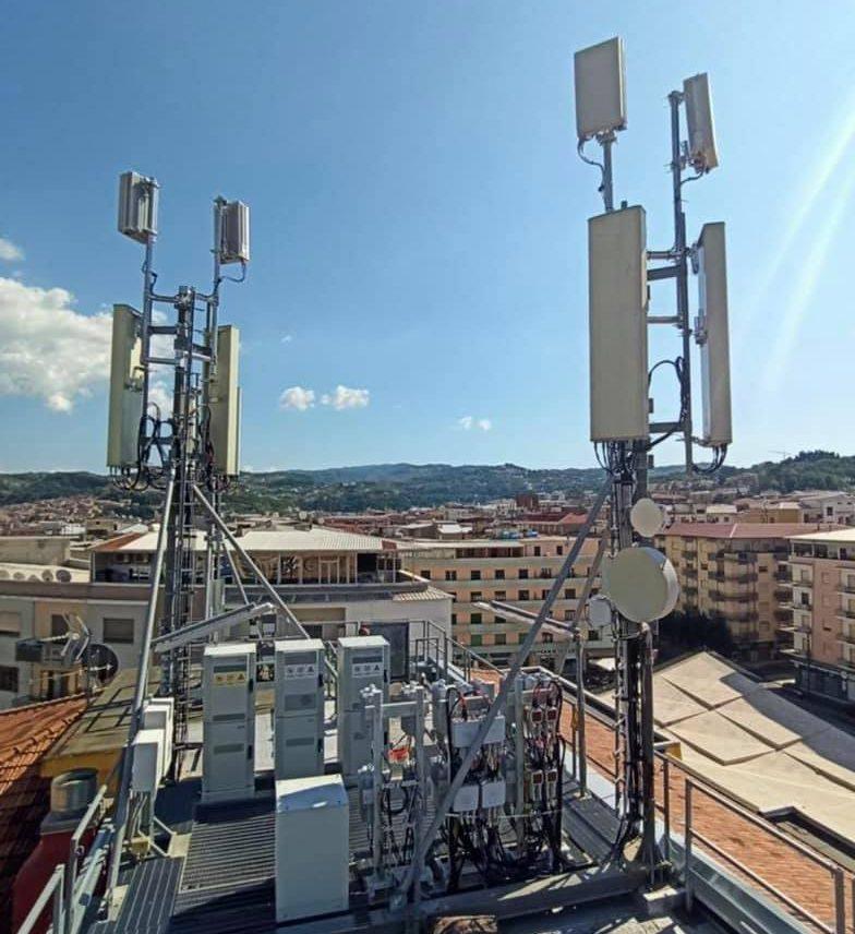 antenna 5G cosenza
