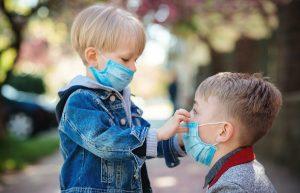 coronavirus bambini mascherine