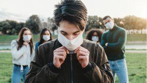 coronavirus giovani mascherina