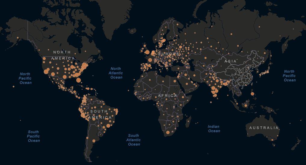 coronavirus mondo casi attivi