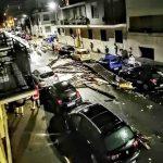 Maltempo, notte da incubo al Nord dopo i +40°C del pomeriggio: tetti scoperchiati a Tortona, devastazioni e blackout dal Piemonte al Veneto [FOTO e VIDEO LIVE]