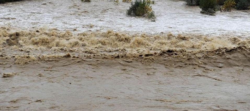 piena fiume torrente maltempo