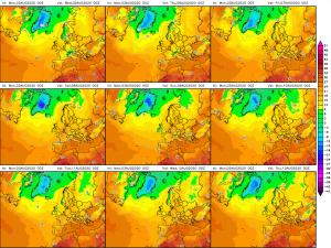 previsioni meteo maltempo caldo