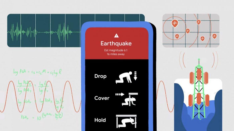 terremoti smartphone