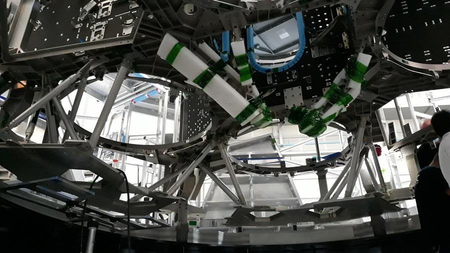 La spina dorsale di una navicella spaziale ESA