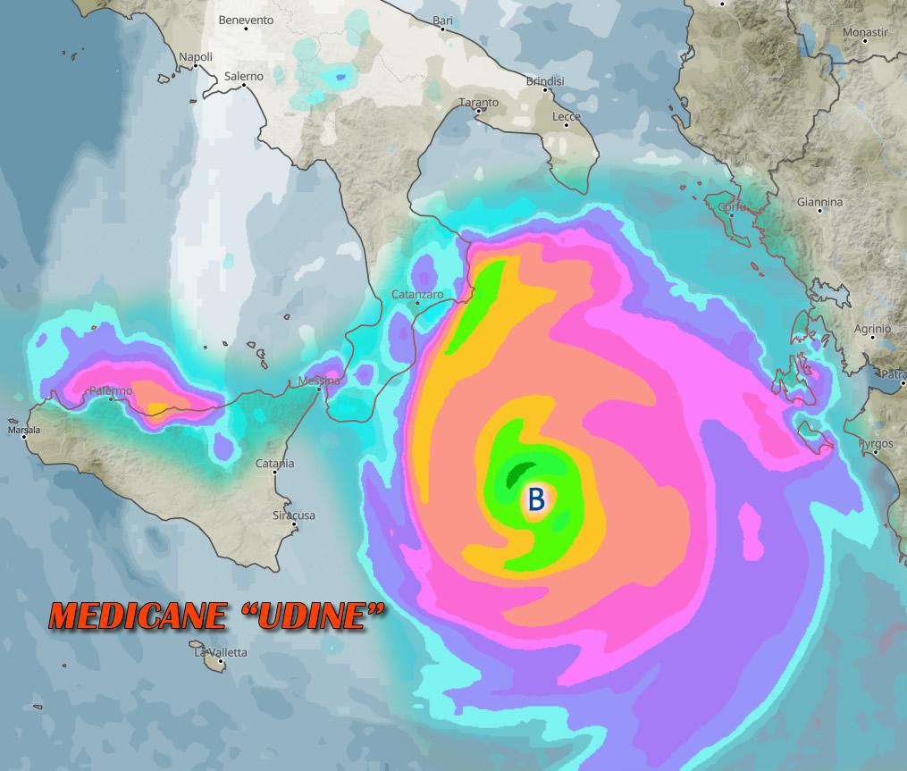 Allarme a Sud, arriva il ciclone tropicale