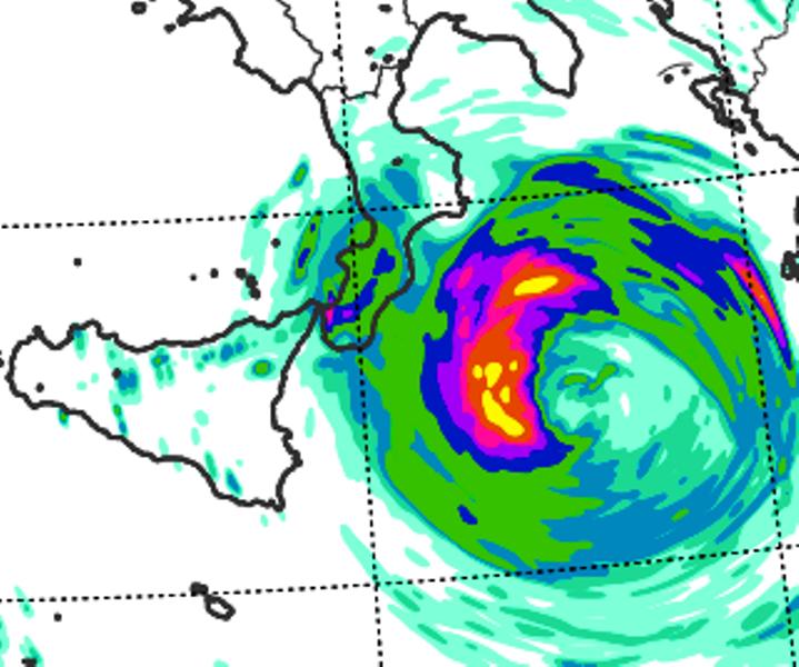 allerta meteo uragano mediterraneo mar jonio 16 settembre 2020