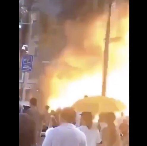 esplosione cina