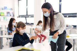 gel igienizzante scuola