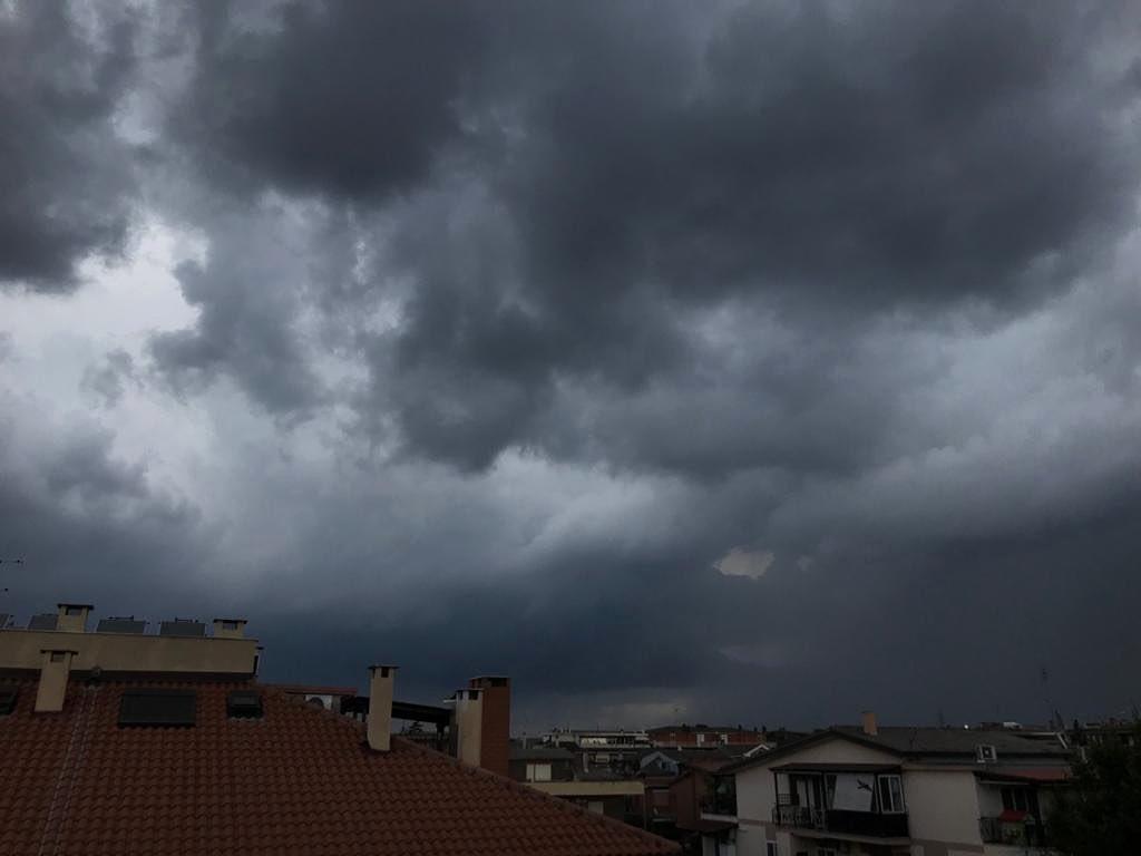 maltempo temporale roma