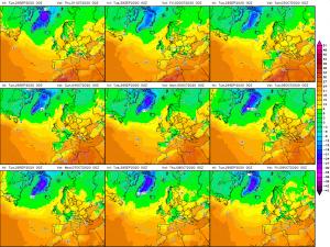 previsioni meteo temperature