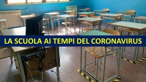 scuola coronavirus riapertura