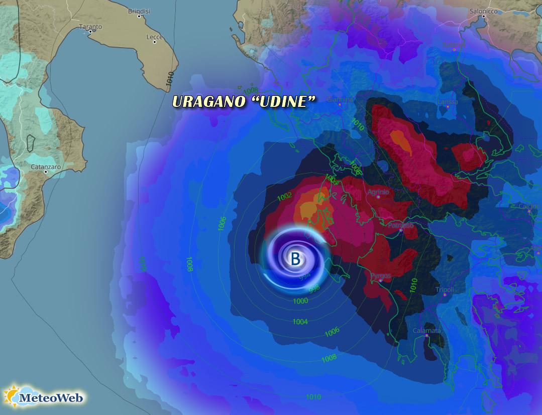Uragano nel Mediterraneo: rischi per il Sud Italia