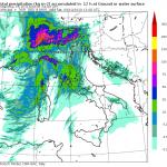 """Allerta Meteo, il maltempo della """"sciroccata"""" inizia a flagellare l'Italia: scenario da incubo per il Nord, mappe impressionanti per le prossime ore"""