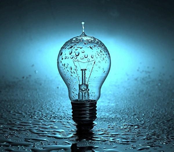 acqua elettricità