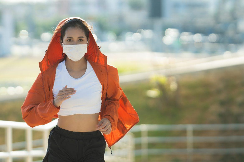 allenamento mascherina