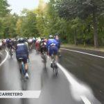 Scenario unico nella San Salvo-Roccaraso: pioggia e grandine rendono la 9ª tappa spettacolare [GALLERY]