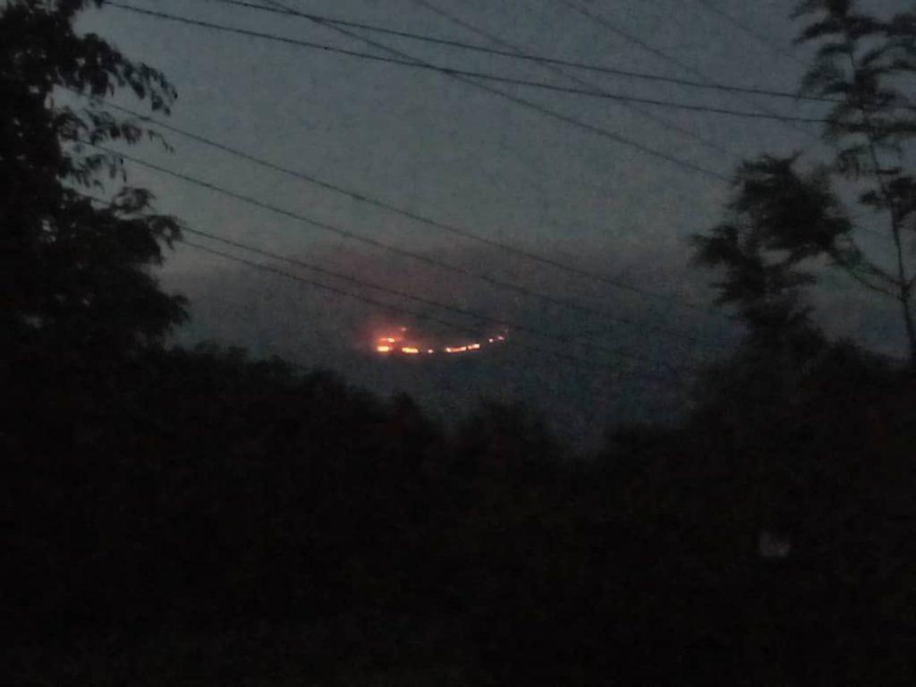 incendio tanzania kilimangiaro