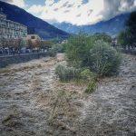 Maltempo, allerta in Alto Adige: chiuse ferrovia e superstrada, Adige sotto osservazione livello critico a Terlano e Appiano [FOTO]